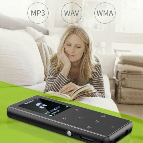 Portable Bluetooth MP3 Music Player with FM Hi-Fi Lossless Support up to 128GB 5