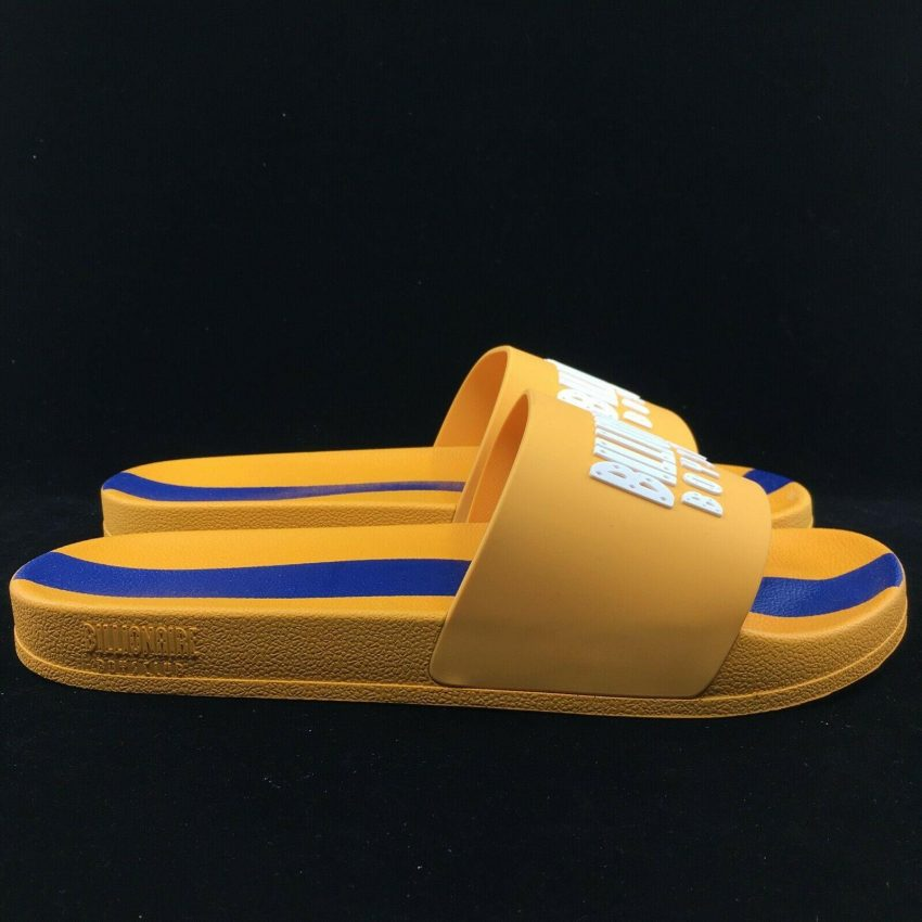 Billionaire Boys Club BB Slides Bees Wax GOLDEN Yellow 891-6804 2