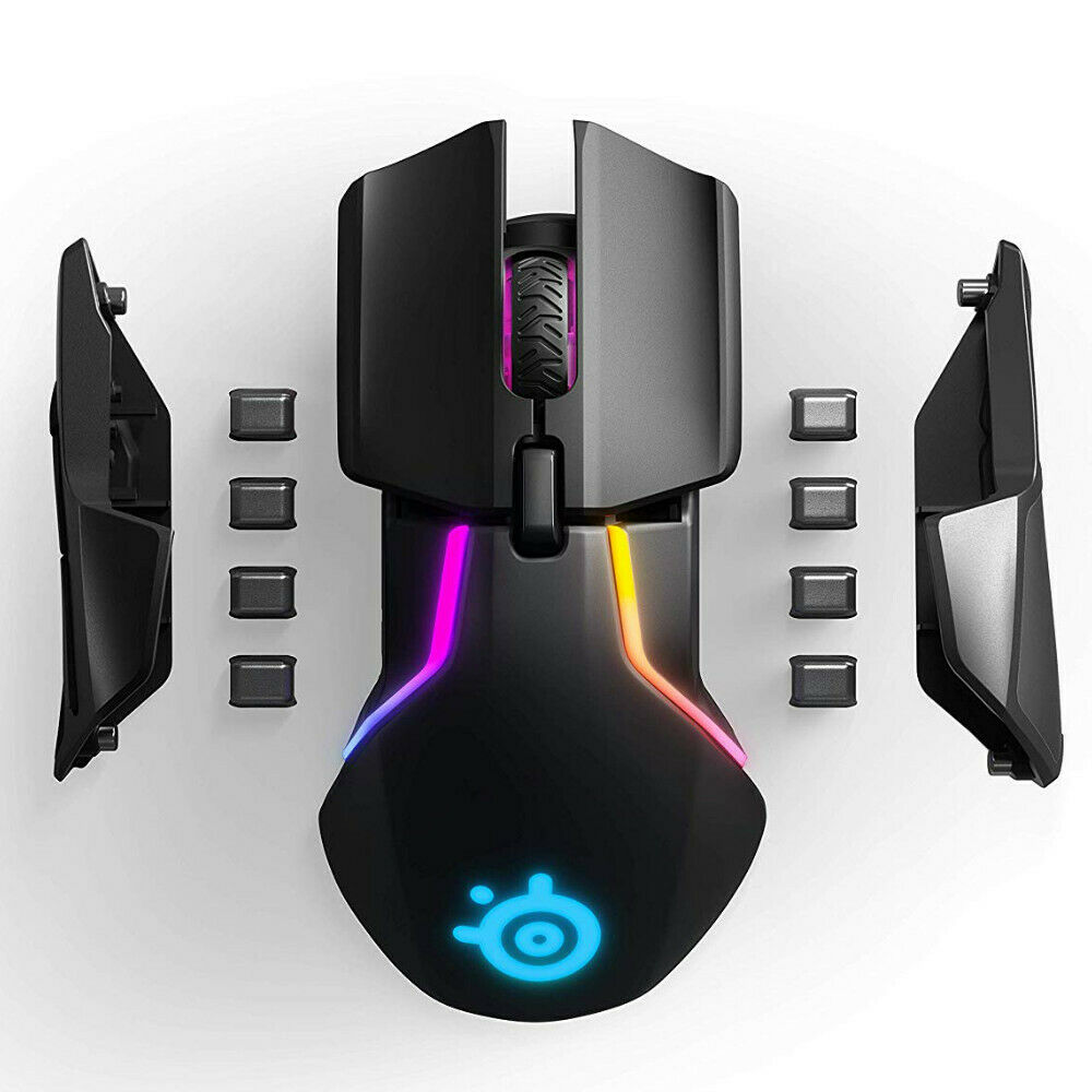 SteelSeries Rival 650 Wireless Gaming Mouse with RGB Lighting 6