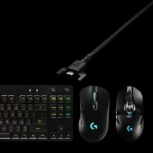 Logitech G Pro Mechanical Gaming Keyboard with 16.8 Million Color RGB Backlit 3