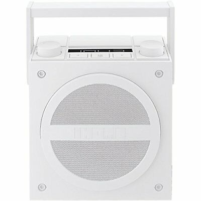 iHome Bluetooth & Aux Line Out Jack Rechargeable Boombox & FM Radio - IBT4WC (Ce 1