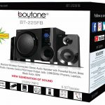 Boytone BT-225FB Powerful Wireless Bluetooth Home Speaker System 60 W, FM Radio 8