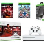 Xbox One S 1TB Console - NBA 2K20, Override and Headset 3