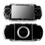 Crystal Clear Transparent Protective Hard Cover Case for SONY PSP 1000 3