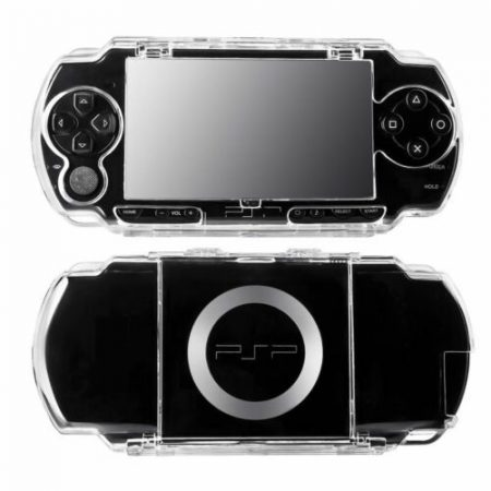 Crystal Clear Transparent Protective Hard Cover Case for SONY PSP 1000 9