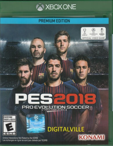 Pro Evolution Soccer PES 2018 Premium Edition Xbox One Factory Sealed (New) 2