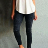 Jeans Jeggings Skinny Stretchy Long Trousers Pants Leggings 2