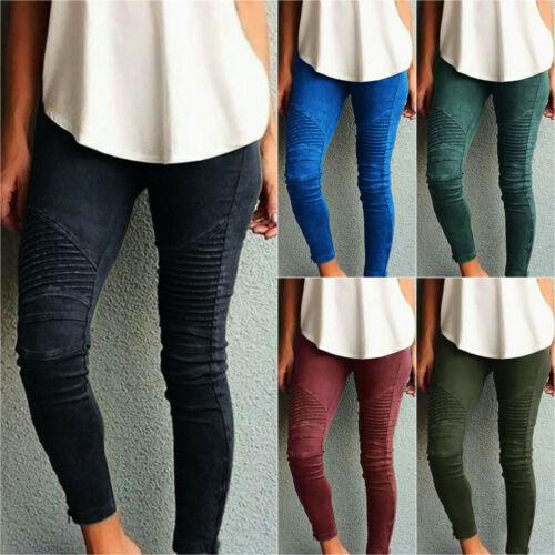 Jeans Jeggings Skinny Stretchy Long Trousers Pants Leggings
