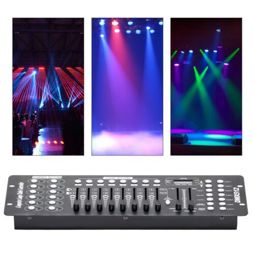 Stage Lighting Console Controller 192CH DMX512 DJ Disco Party Light 3