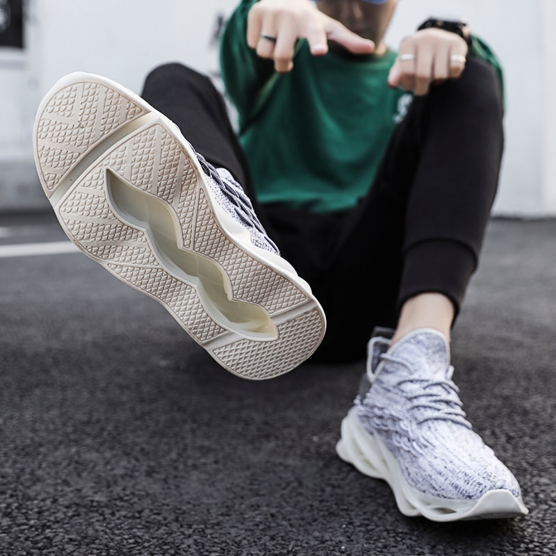 Male off white Shoes Speed Knit Original 4
