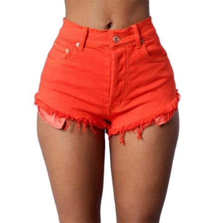 Summer Multi-color Tight Women Denim shorts 1