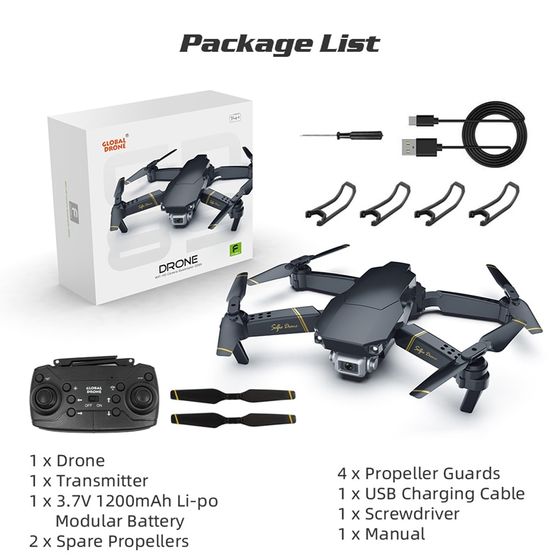 Global Drone Live Video Drone X Pro 480p 15
