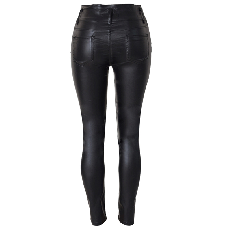Big Plus Size PU Leather Pants 5