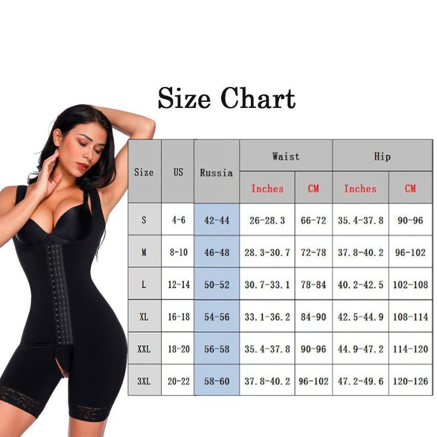 Fajas Full Body Shaper Modeling Belt Waist Trainer Butt Lifter  6