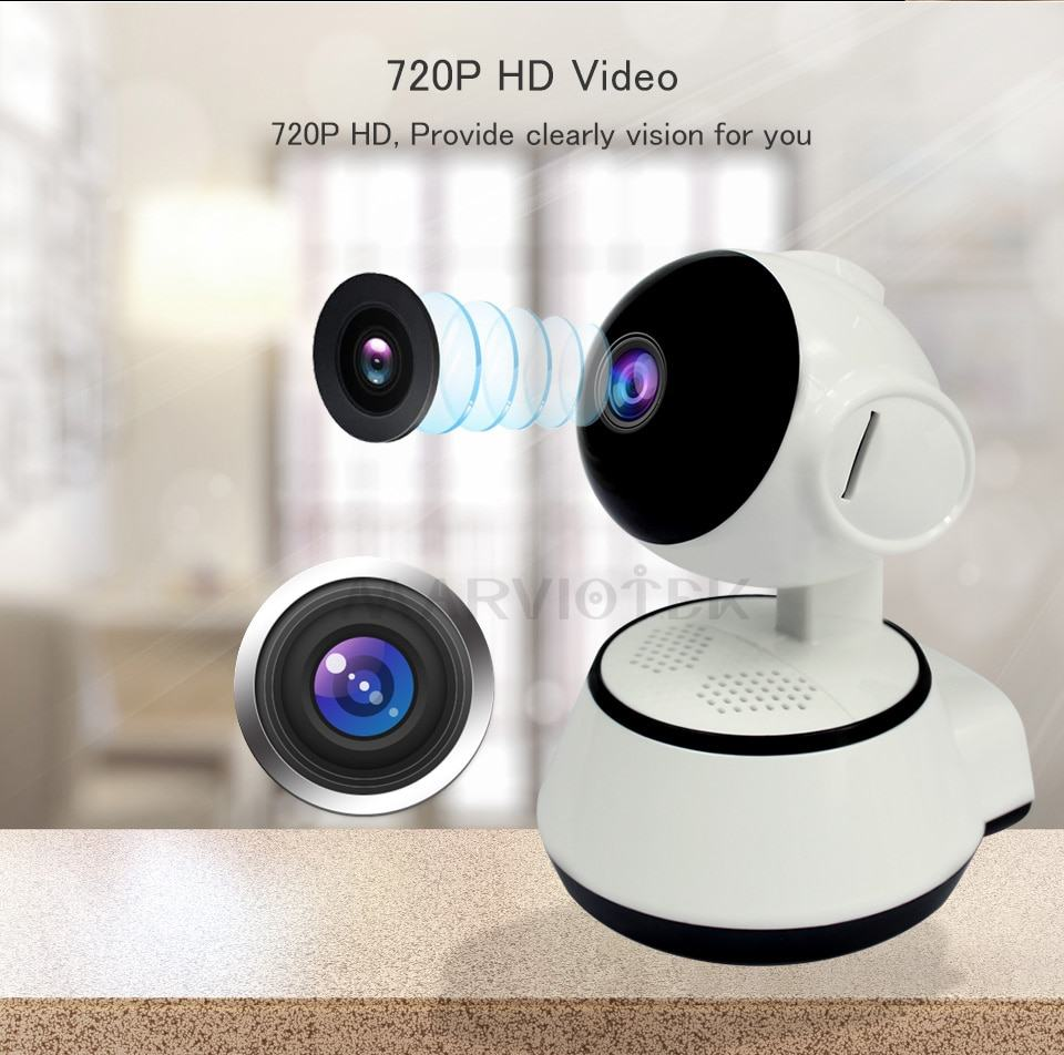 Home Security IP Camera WiFi Wireless Mini Network Camera HD Surveillance 4