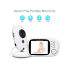 Baby Monitor electronics monitors with 3.2 inch LCD Night vision Two way talk