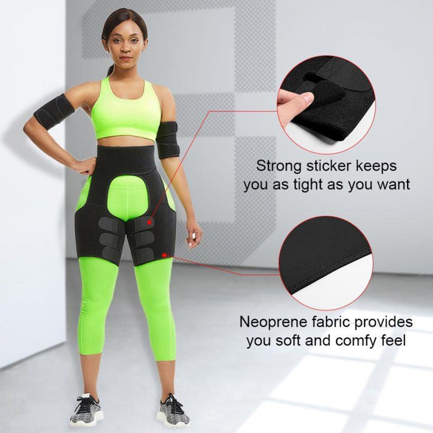WAIST Slim Thigh Trimmer Leg Shapers Slender Slimming Belt 2