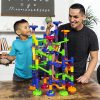 BCP 105-Piece Kids STEM Marble Run Coaster Track Toy Set 1