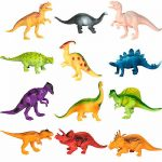 BCP 12-Pack Kids Dinosaur Toy Figure Play Set 2