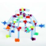 100 Pc Brackitz Inventor STEM Building Toy: Teaching Kids at Home 11