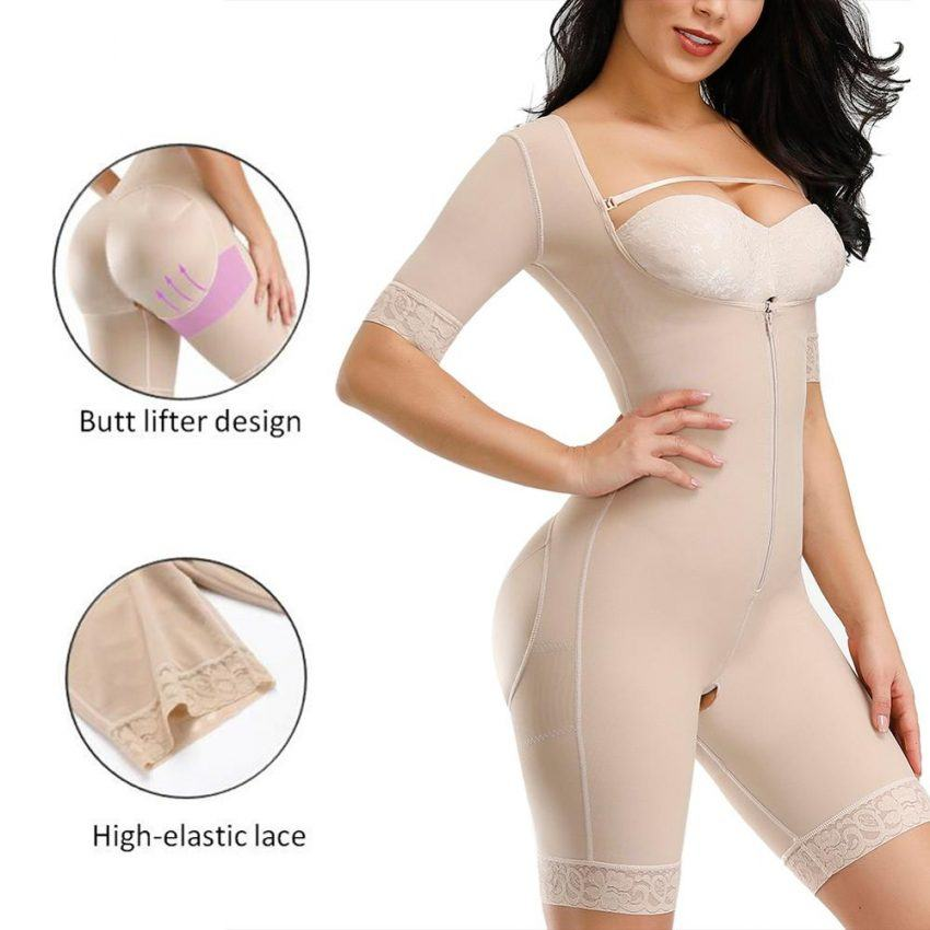 Slimming Underwear Full Body Shaper Tummy Control Waist Trainer Butt Lifter 3