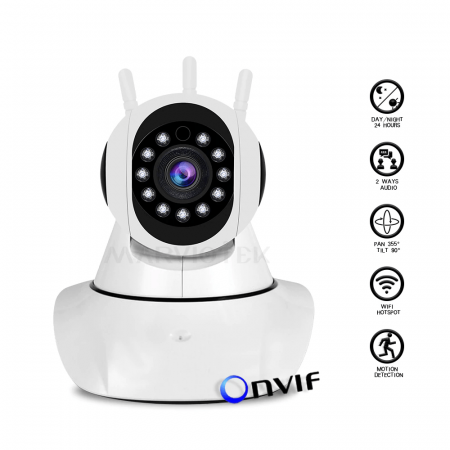 720P 1080P IP Camera Wifi Night Vision Video Surveillance Camera