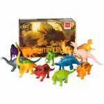 BCP 12-Pack Kids Dinosaur Toy Figure Play Set 3