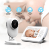Baby Monitor Two way Audio Nanny Video 4.3 inch Baby Security Camera