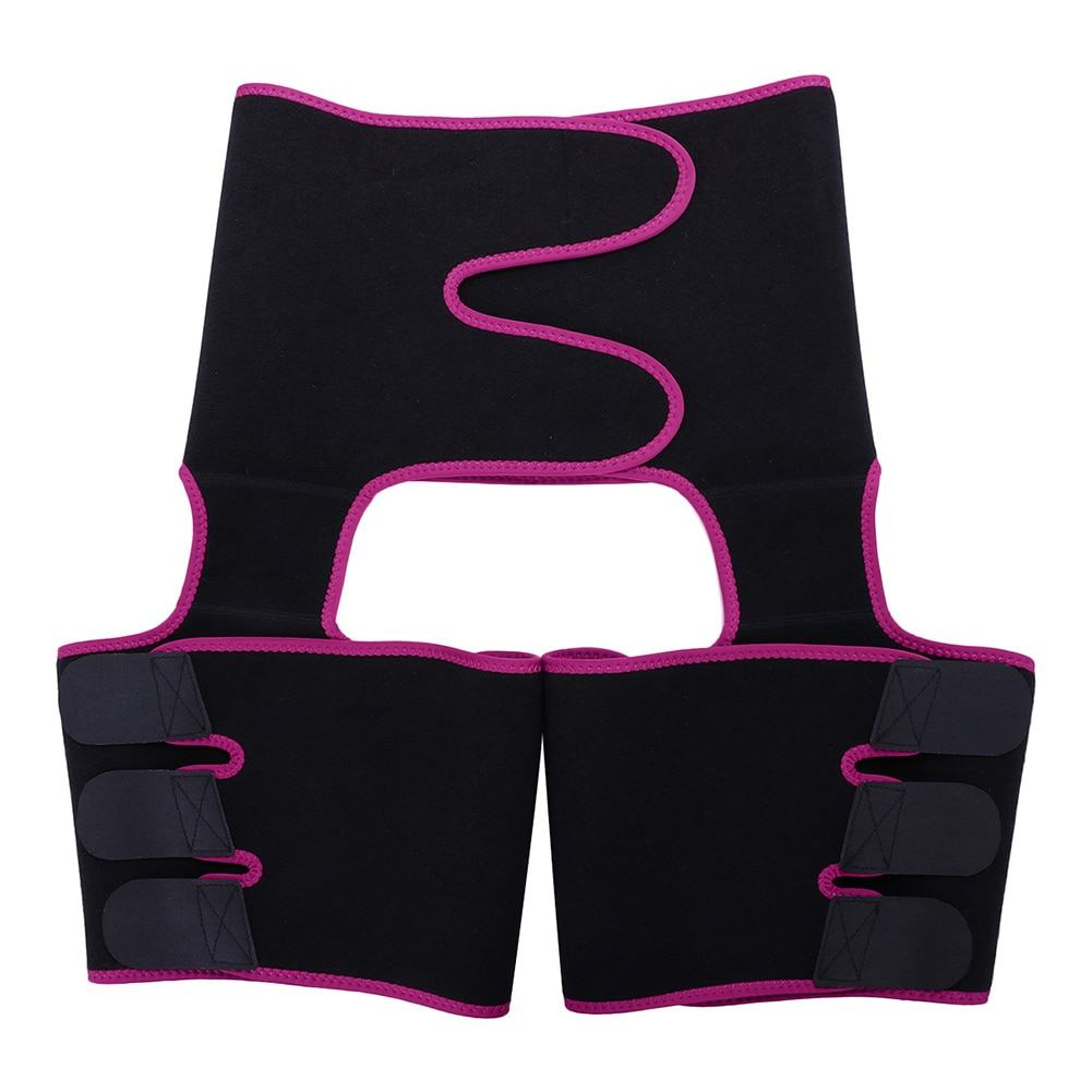Slimming Leg Shaper Thigh Trimmers Warmer Slender Shaping Legs Belt 5