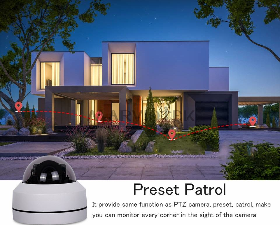 1080P PTZ IP Camera Outdoor Waterproof home security Camera 11