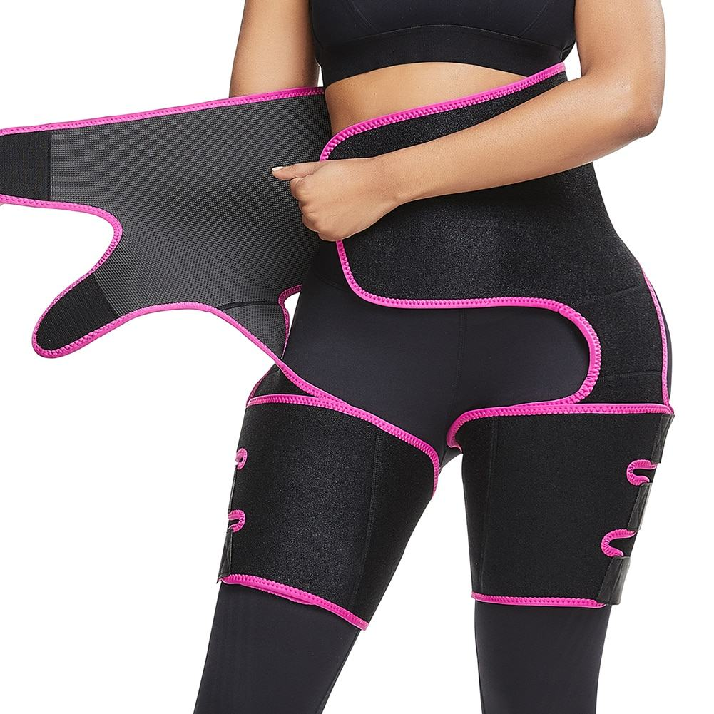 Slimming Leg Shaper Thigh Trimmers Warmer Slender Shaping Legs Belt 1