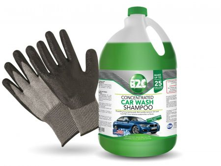 Car Wash & Wax Shampoo Foam 1 Galon 128 oz