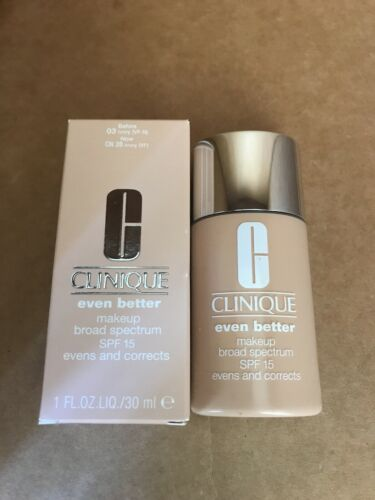 Clinique Even Better Makeup Spf 15 Cn28 Ivory 30ml Full Size New In Box