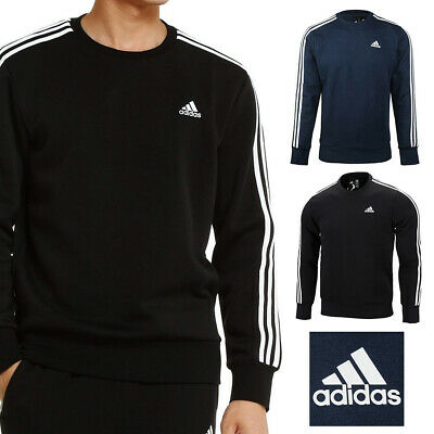 Adidas Men's Crew Neck Pullover Sweatshirt