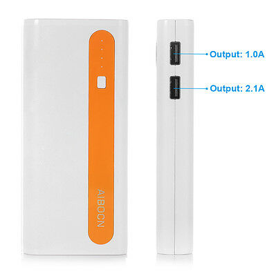 10000mAh External Battery Portable Dual USB Power Bank Charger For Cell Phone 1