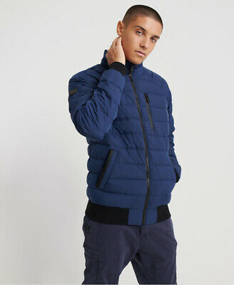 Superdry Mens Quilted Bomber Jacket