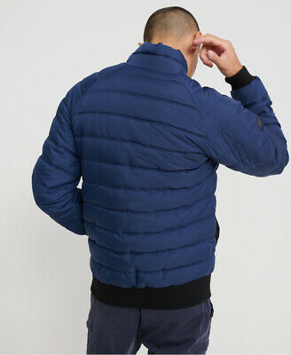 Superdry Mens Quilted Bomber Jacket 2