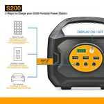 S200 Portable Power Station For Camping and Emergency Uses (Solar/Car/Wall) 3