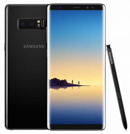 Samsung Galaxy Note 8 - 64GB - Black - Factory Unlocked; AT&T / Verizon / Global