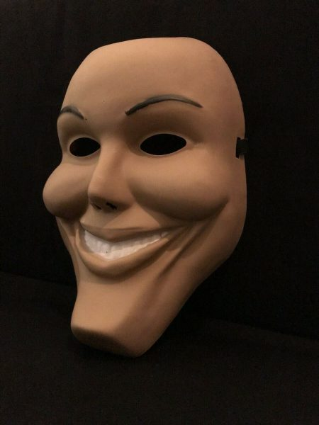 The Purge Anarchy Mask Scary Smile Face Mask Halloween Party Costume