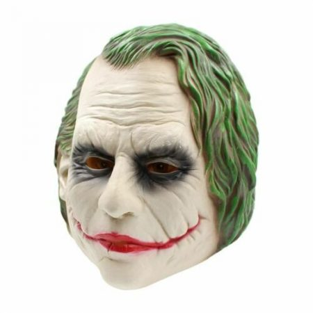 Joker Costume Head Horror Scary Mask - Halloween Party