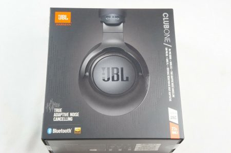 JBL CLUB ONE Wireless Over-ear True Adaptive Noise Cancelling Headphones, Black