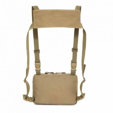 Outdoor Tactical Molle Combat Chest Rig Bag Front Pouch Recon Kit Pack