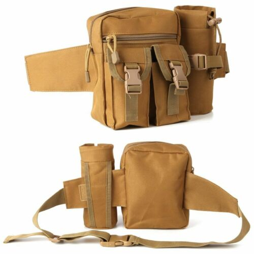 Outdoor Utility Tactical Waist Fanny Pack Pouch Military Camping Hiking Belt Bag 8