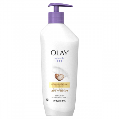 Olay Quench Ultra Moisture with Shea Butter Body Lotion 11.8 fl oz