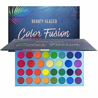 High Pigmented Makeup Palette Easy to Blend Color Fusion 39 Shades Metallic