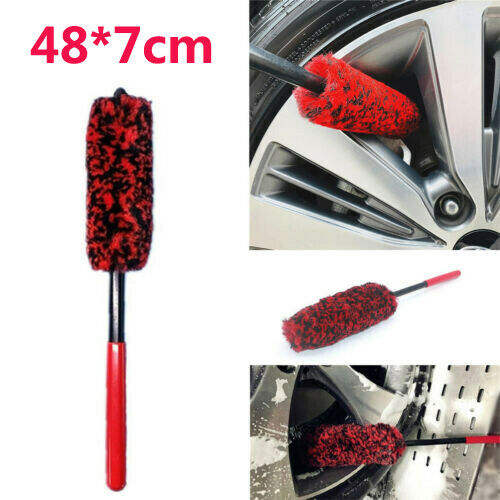 Car Cleaner Brush Auto Grille Wheel Rims Tire Seat Engine Washing Cleaning Tool 2
