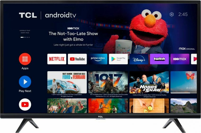"""TCL 32S330 32"""" HD LED Smart Android TV"""