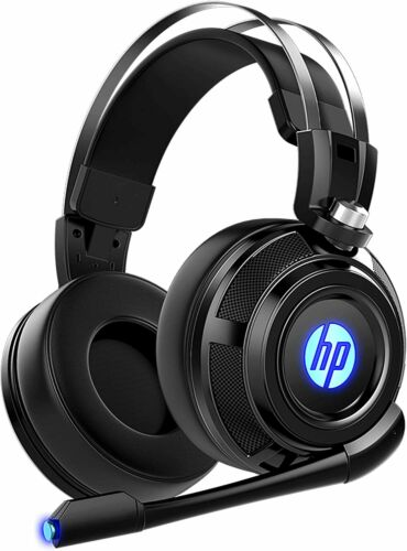 HP Wired Stereo Headset with mic Gaming Over ear Headset W LED H200 Headphone 7