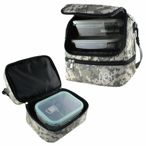 Insulated Lunch Bag for Women/Men Reusable Lunch Box fo Work School Picnic Beach 4
